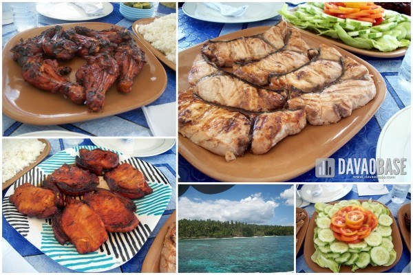 davao city tour food during samal diving