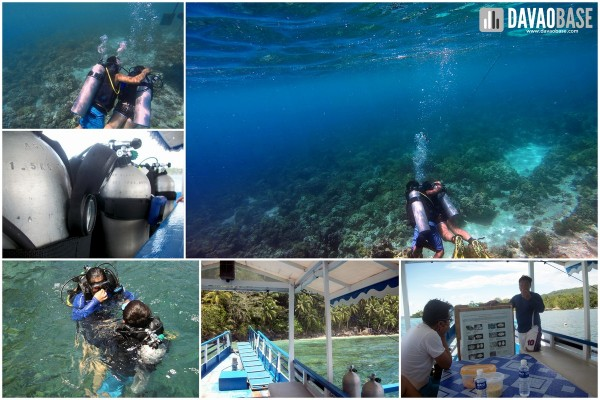 davao city tour samal underwater diving