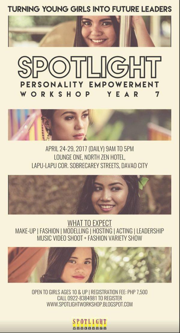 davao summer classes 2017 spotlight workshops