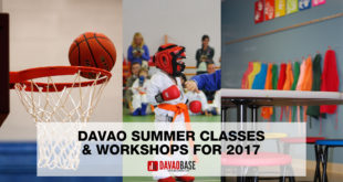 davao summer classes workshops 2017
