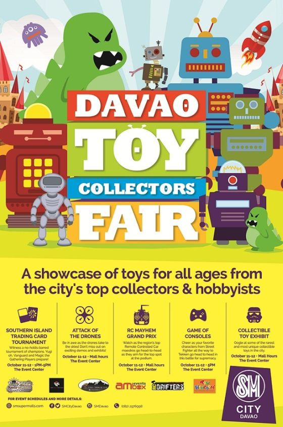 davao toy collectors fair sm city davao october 11-12 2014