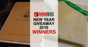 DavaoBase New Year Giveaway