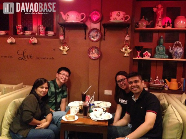 dinner with Ptr. Joseph Doce and Perla Doce