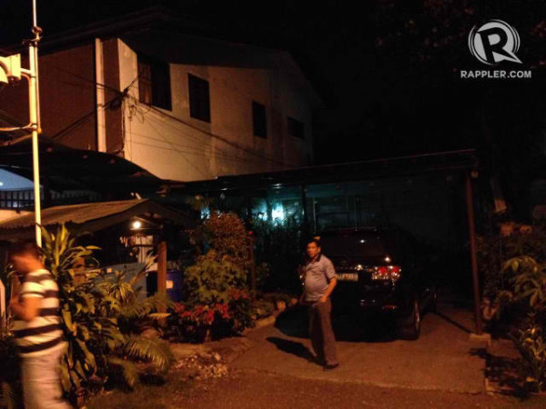 Duterte's house looks just like any other middle-class home in a Davao City subdivision. [Image from Rappler]