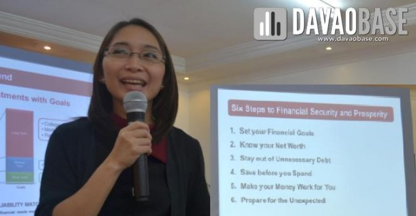Steps to Financial Security and Prosperity shared at the Philam Life Financial Literacy Forum