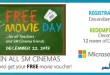 free movie at SM Cinemas