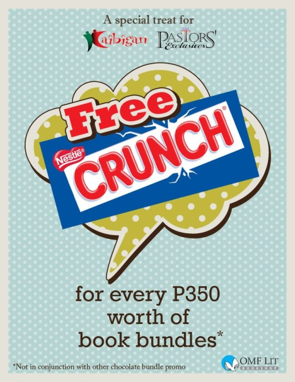 free nestle crunch for omf lit book bundle