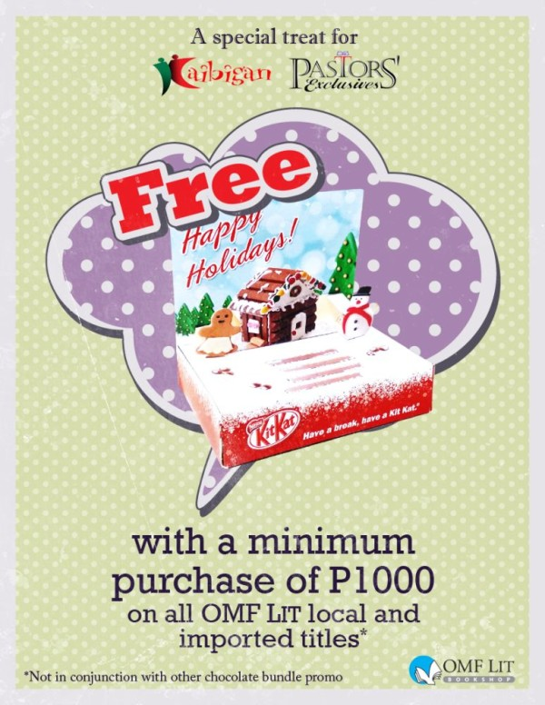 free nestle kitkat for omf lit book bundle