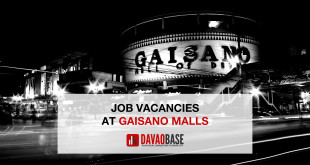 gaisano-mall-job-vacancy