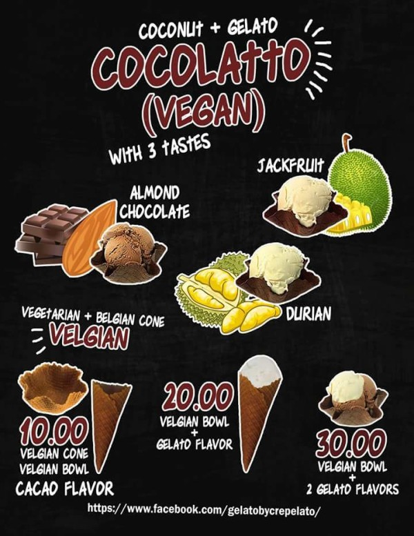 gelato on the road cocolatto vegan ice cream flavors