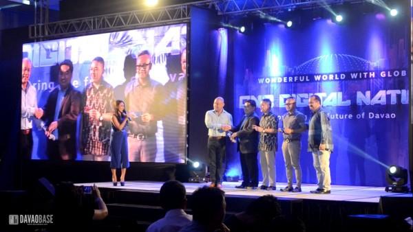 globe one digital nation turnover smartphones to davao city government