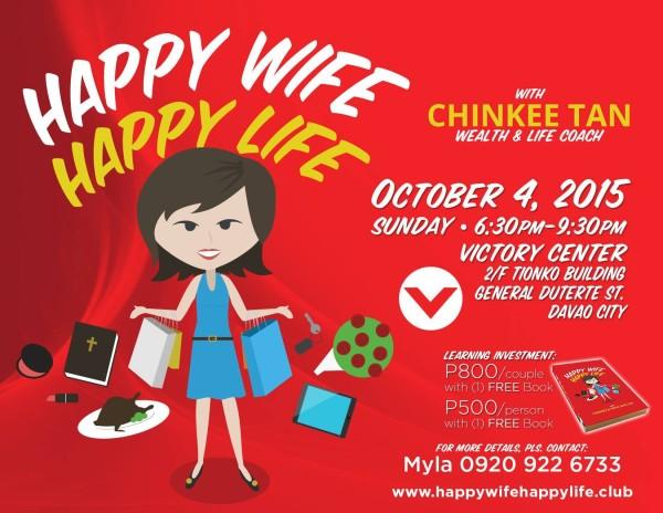happy wife happy life chinkee tan