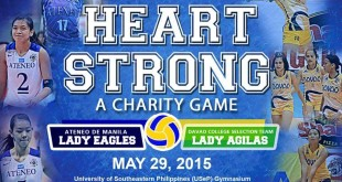 heart strong volleyball game