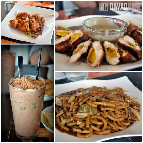 More dishes at Horizon Cafe. Clockwise from top left: Ngoh Hiang (handmade Chinese five-spice pork rolls), Grilled Chicken with Ripped Mangoes, Braised Hokkien Noodles, Milo Godzilla.