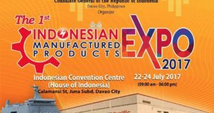 indonesian expo 2017 manufactured products