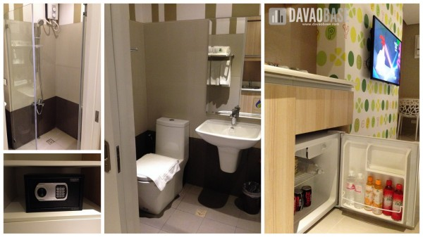 Amenities inside the Happy Room at Injap Tower Hotel