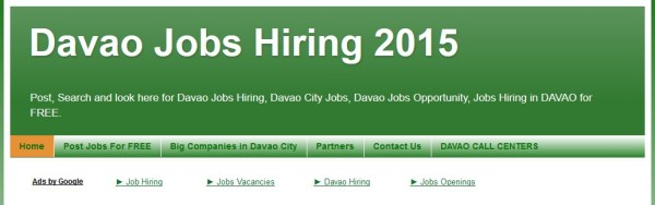 job hiring website davaojobshiring