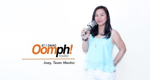 Joey Sy-Domingo is the station manager of Oomph! Radio