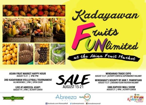 kadayawan 2016 abreeza asian fruit market