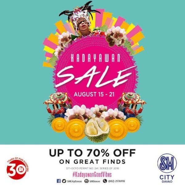 kadayawan 2016 sale sm city davao