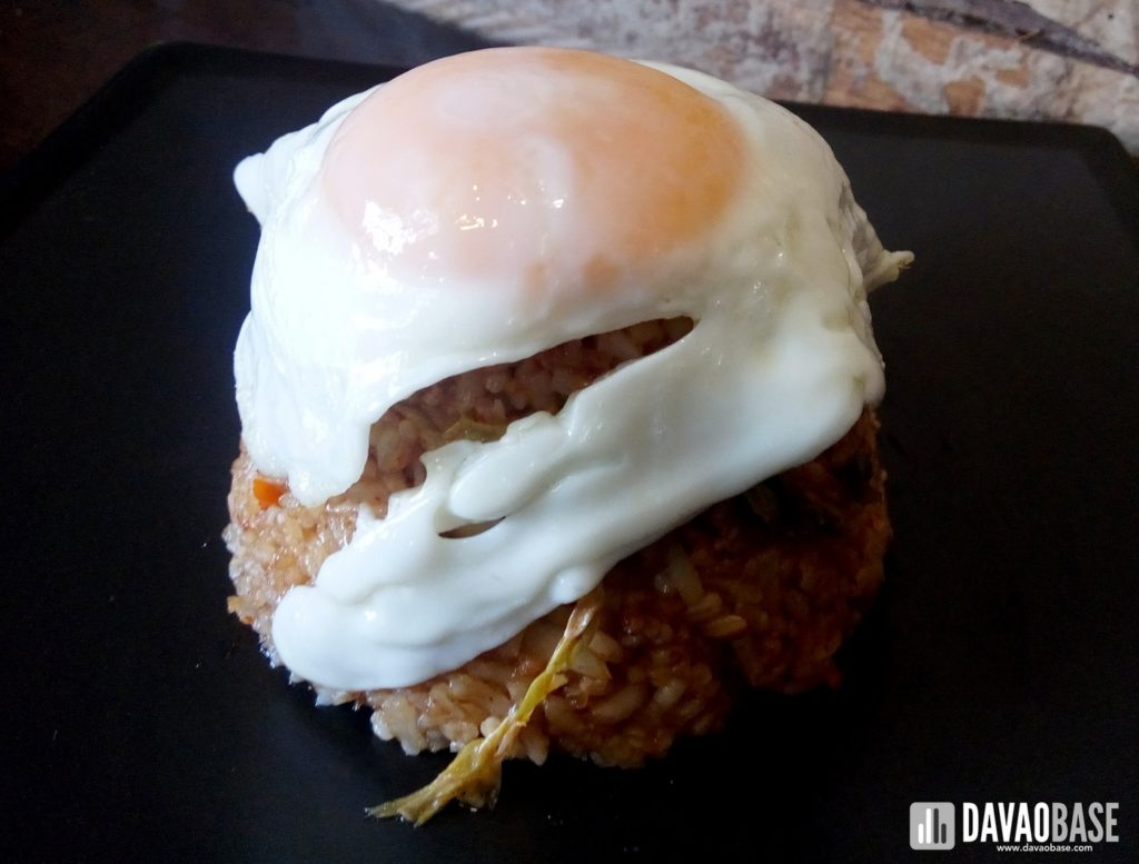 kimchi rice with egg munchtown grill