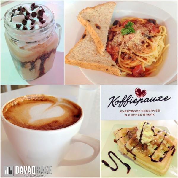 Koffiepauze Davao