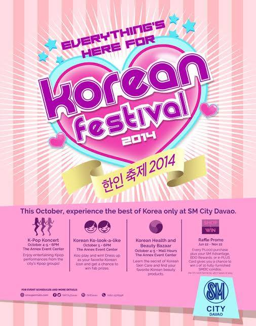 korean festival sm city davao october 4 2014