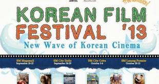korean film festival sm lanang premier october 10-13 2013 free admission