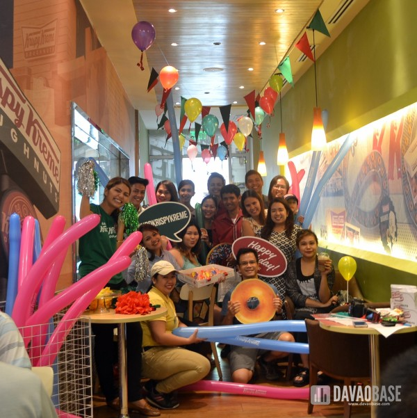 Krispy Kreme celebrates its 78th birthday with Davao Bloggers