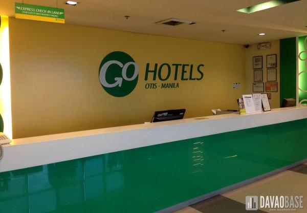 Go Hotels lobby