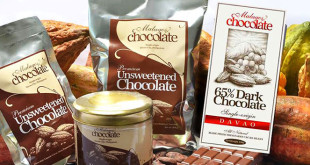 Malagos Chocolate products (image from the company Facebook page)