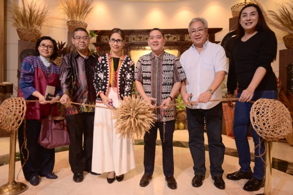 A ribbon-cutting ceremony formally opened the Kadayawan celebrations at Marco Polo Davao. (Photo by Marco Polo Davao)