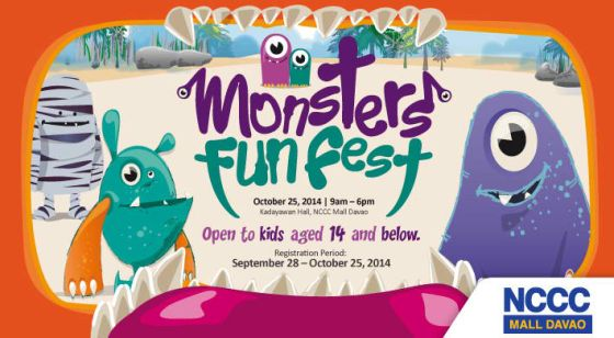 monster fun fest nccc mall davao october 25 2014