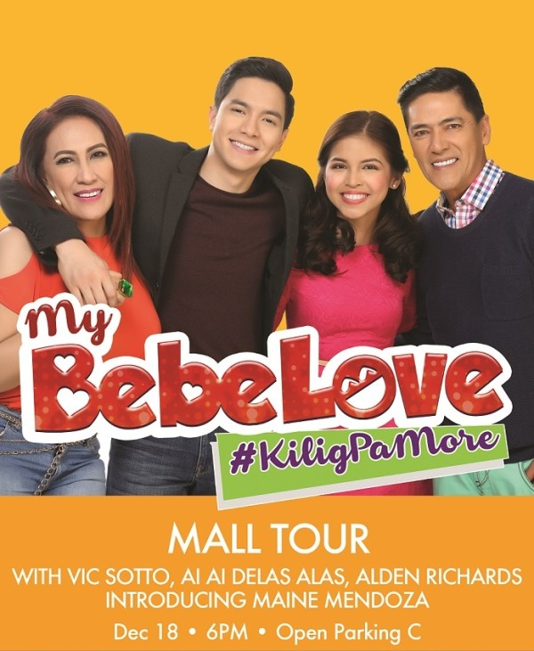 my bebe love davao tour december 18 2015 aldub