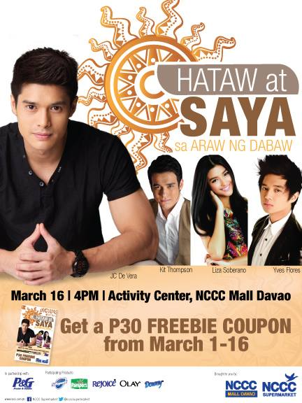 Araw ng Dabaw celebrities at NCCC Mall