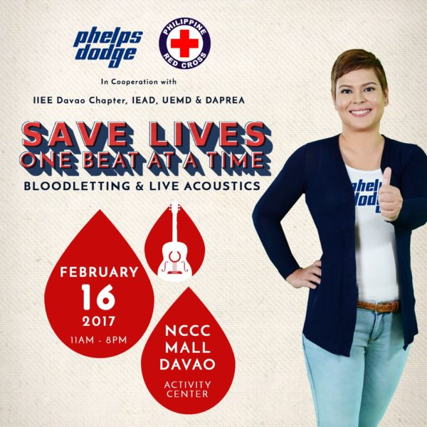 phelps dodge red cross bloodletting drive save lives one beat at a time