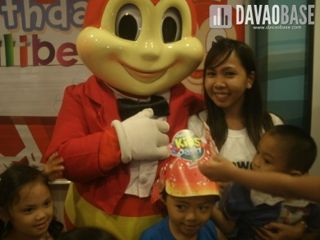 Jollibee's birthday party