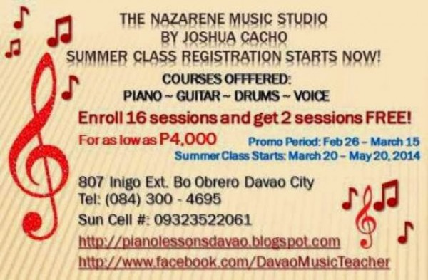 piano lessons by nazarene music studio joshua cacho