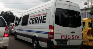 pnp cbrne van spotted ponciano street