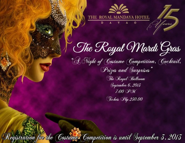 the royal mandaya hotel mardi gras