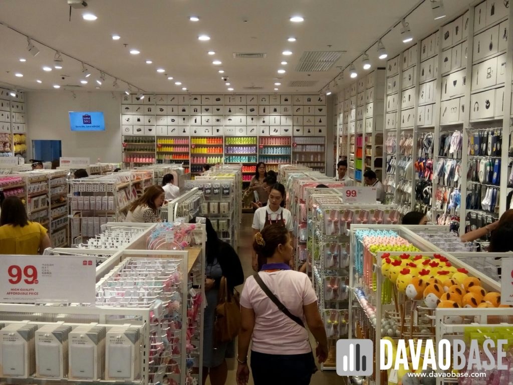 Take a peek at what's inside Miniso Davao