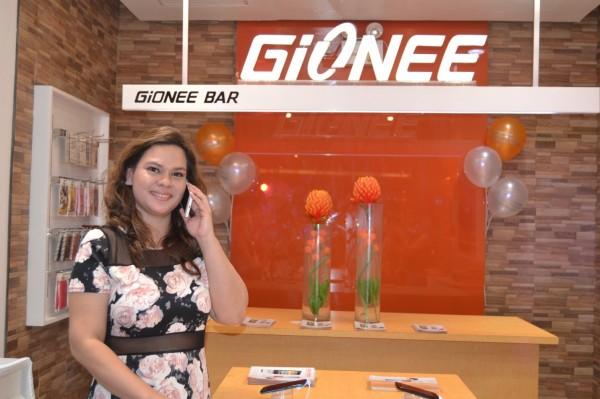 Sara Duterte Carpio for Gionee smartphone