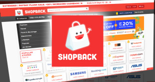 ShopBack gives cashback while shopping online