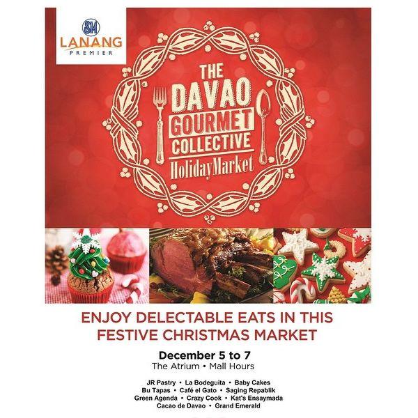 sm lanang premier davao gourmet collective holiday market