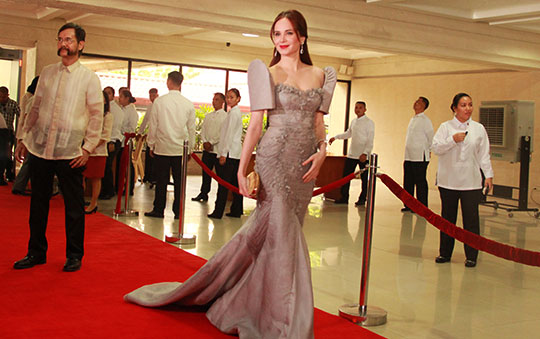 Does this mean goodbye to the SONA red carpet?