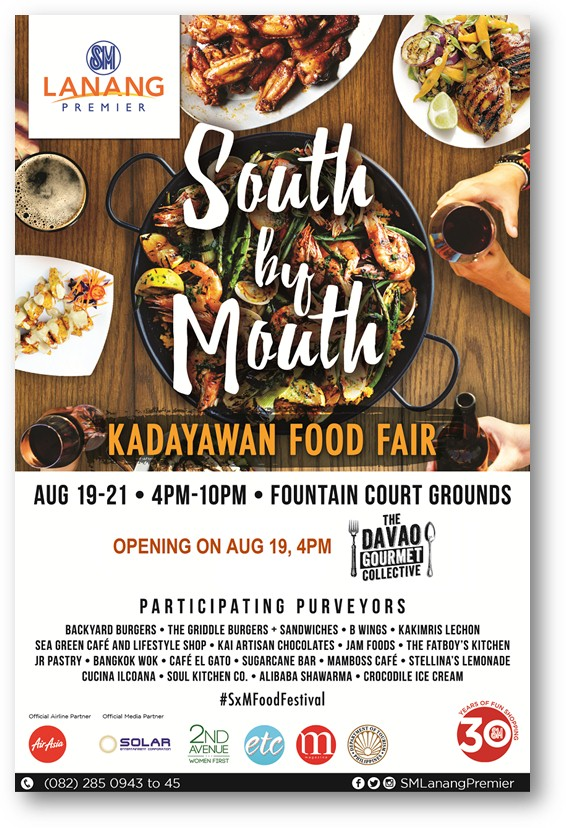 south by mouth sm city davao august 19