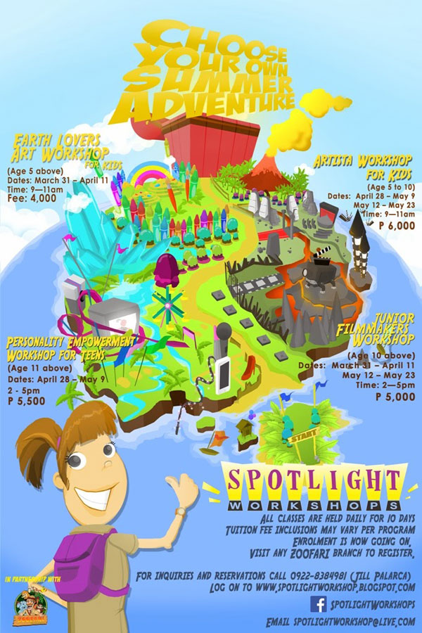 spotlight summer workshops in davao