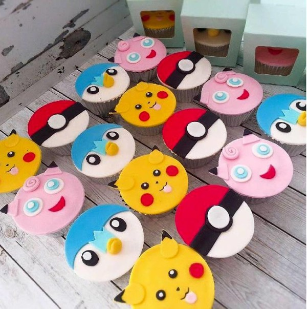 sweet perfections pokemon themed cupcakes