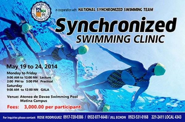 synchronized swimming gs