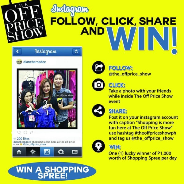 the off price show instagram promo